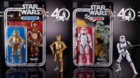 Suite des Black Series avec C3PO et le Stormtrooper