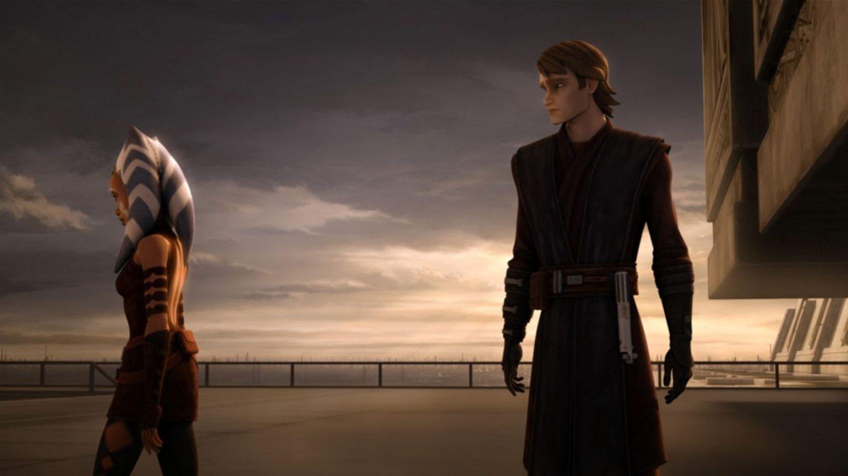 Ahsoka et Anakin à nouveau réunis