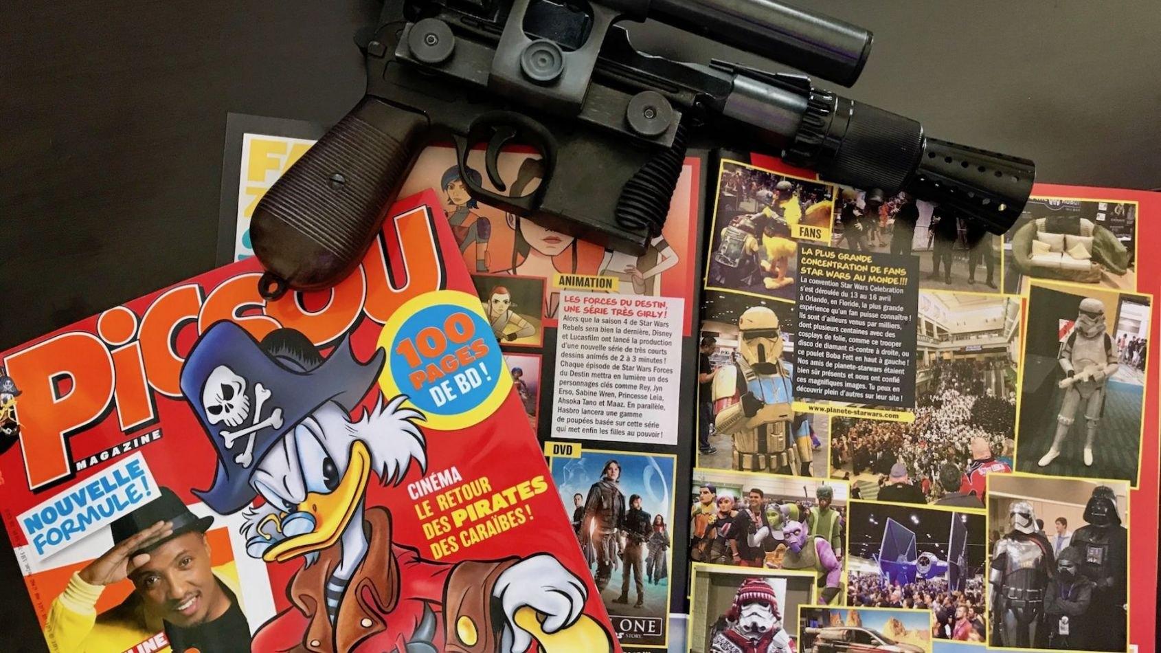Planète Star Wars dans Picsou Magazine