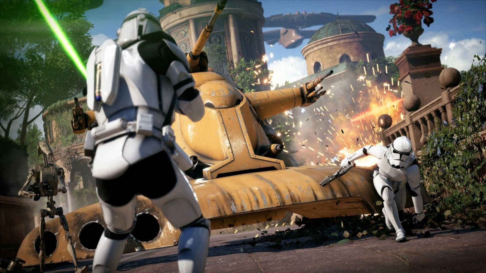 La Beta de Battlefront II sera disponible le 6 Octobre !