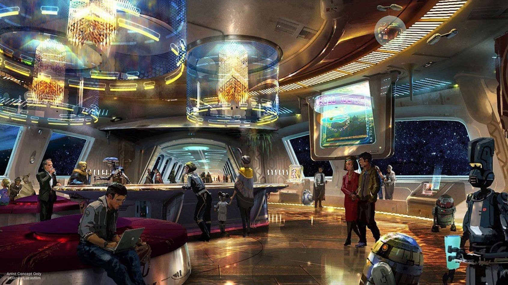 L'hôtel à expériences immersives de Star Wars Galaxy's Edge confirmé!