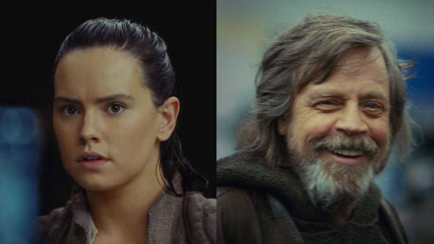 Les figurines black series de Luke et Rey dans Les Derniers Jedi !