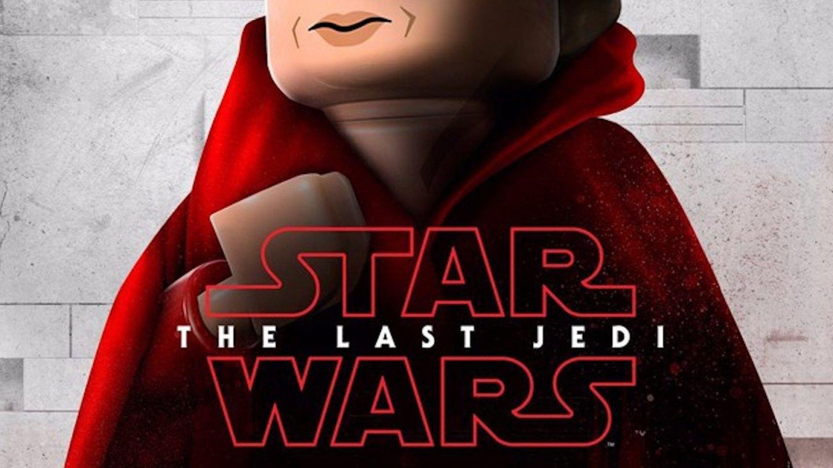Les posters  des Derniers Jedi version Lego