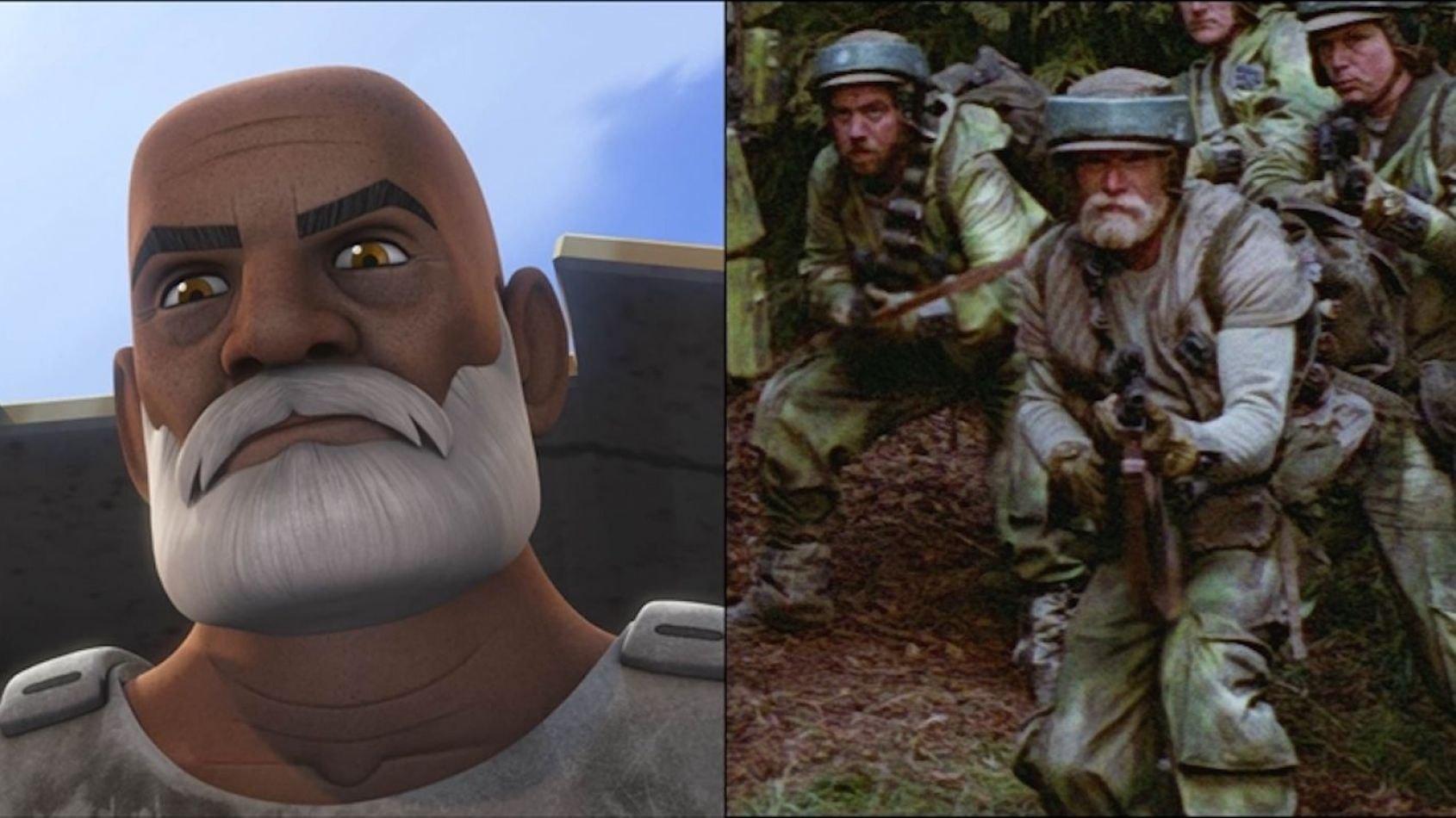 Le Capitaine Rex est-il vraiment dans le Retour du Jedi?
