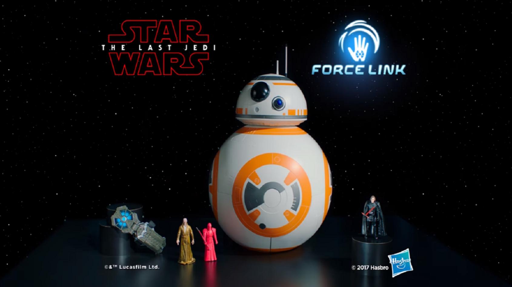 Des publicités pour les jouets des Derniers Jedi et Forces du Destin