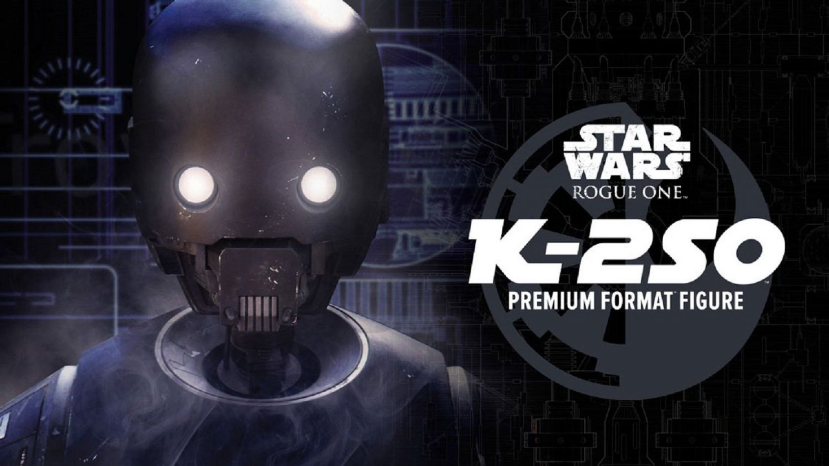 La figurine Sideshow Format Premium de K2SO en vidéo