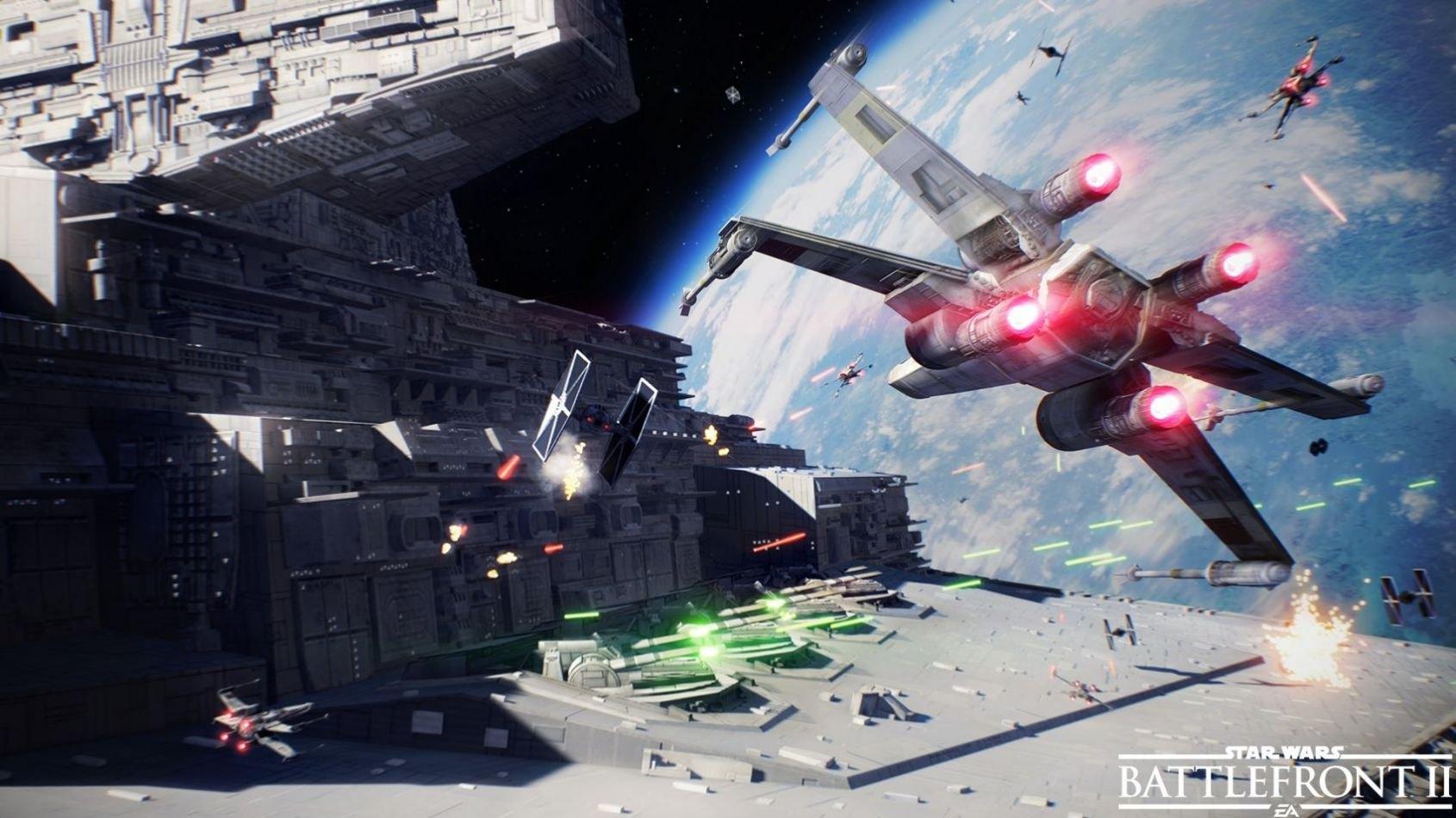 Star Wars Battlefront II : Une bande annonce pour les batailles spatiales !