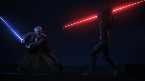 Les coulisses du duel entre Maul et Obi-Wan dans Star Wars Rebels
