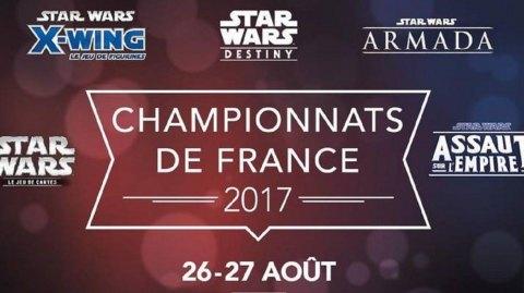 Championnats de France des jeux Star Wars ce week end