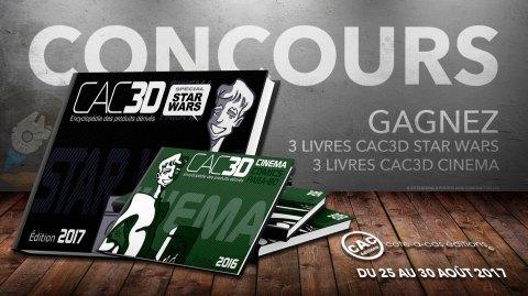 Concours : Gagnez 6 encyclopédies CAC3D