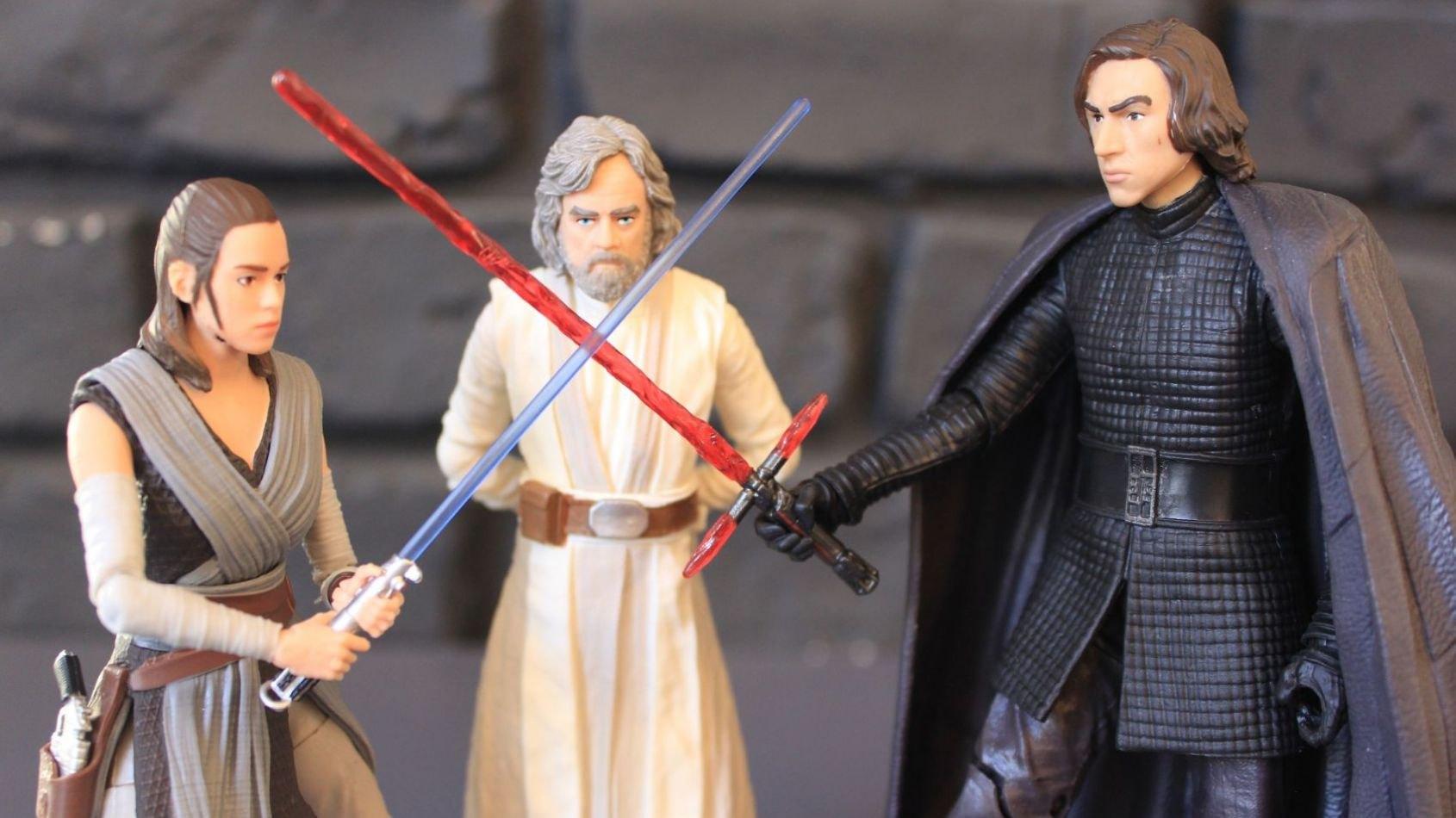 Review des Figurines Hasbro Black Series des Derniers Jedi !