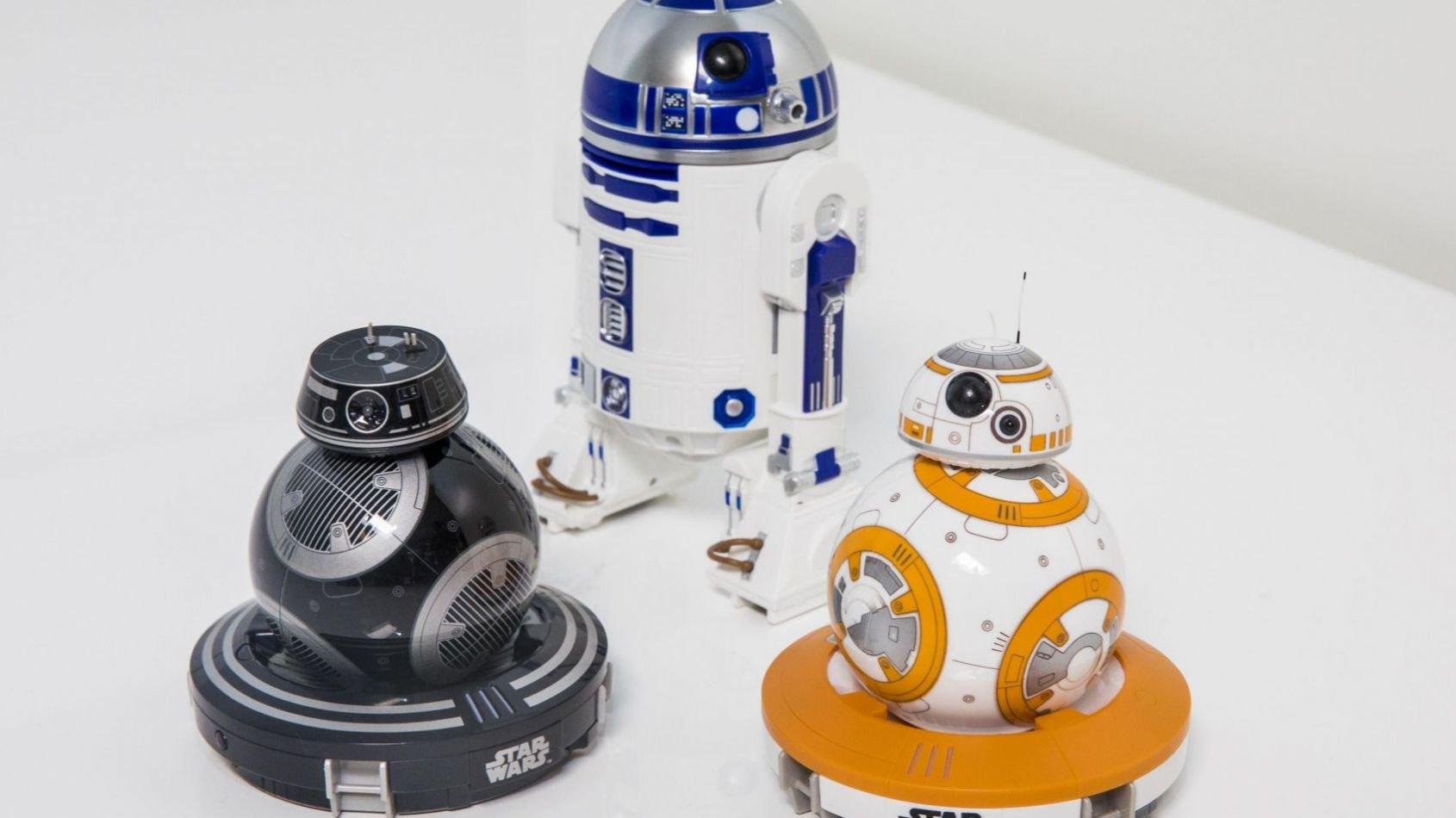 Les robots télécommandés de Sphero: R2-D2 et BB-9E arrivent !