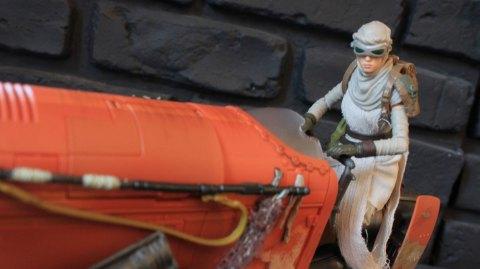 Review du speeder de Rey Black Series chez Hasbro