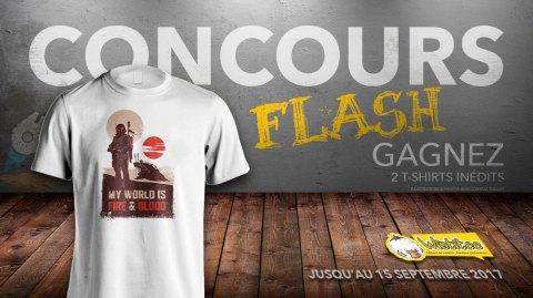 CONCOURS FLASH - Gagnez un t-shirt Star Wars exclusif avec Wistitee