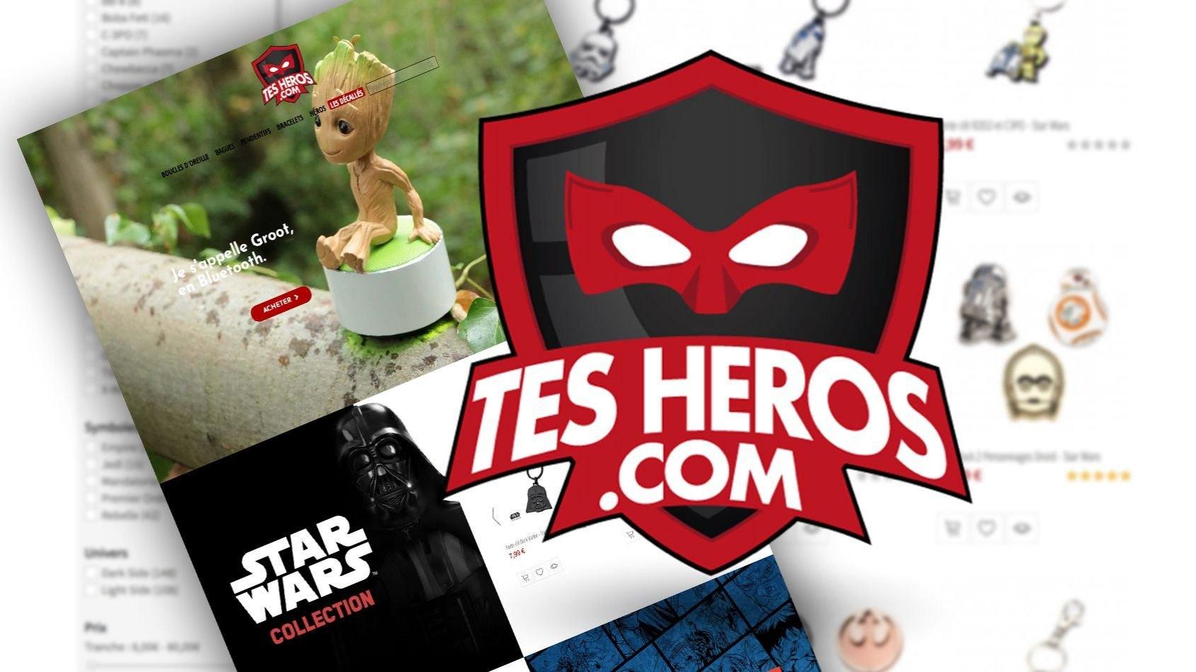 La boutique Les Bijoux de l'Empire devient TesHeros.com