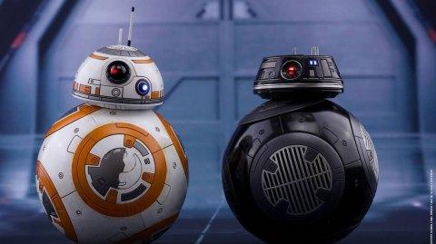 Hot Toys dévoile ces nouvelles figurines de BB-8 et BB-9E