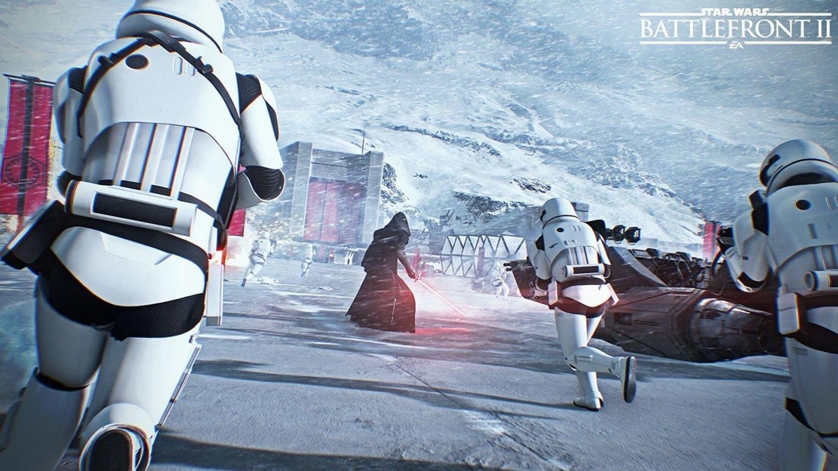 Le contenu disponible au lancement de Battlefront II