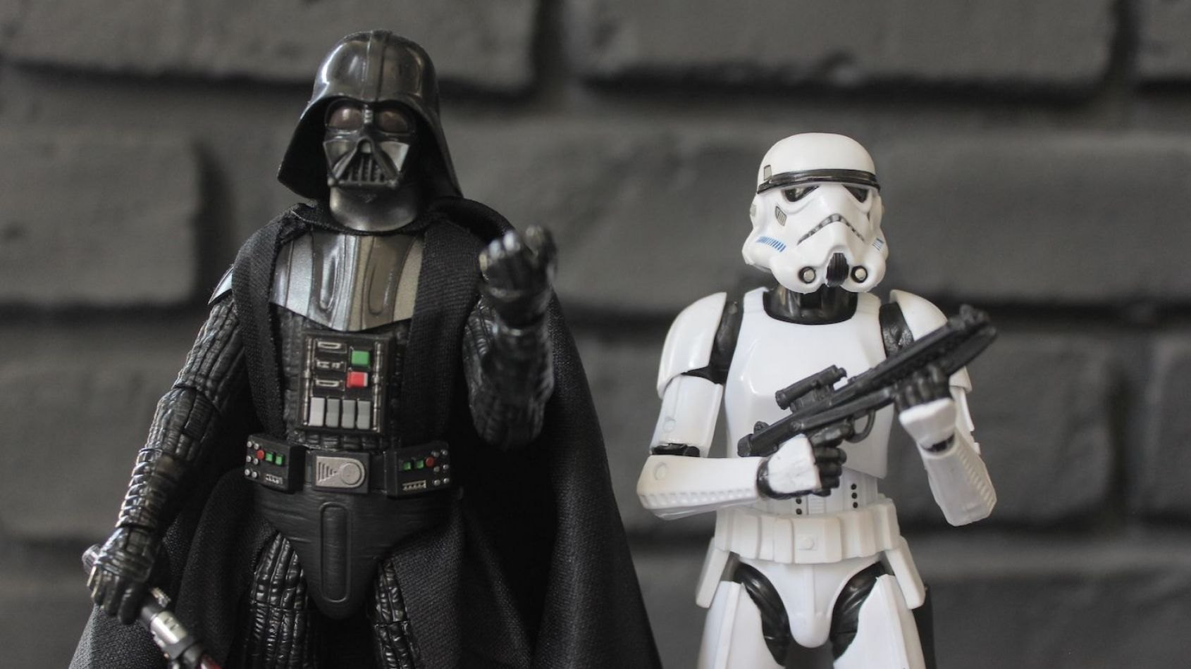 Review des Figurines Hasbro Black Series de Vador et du Stormtrooper