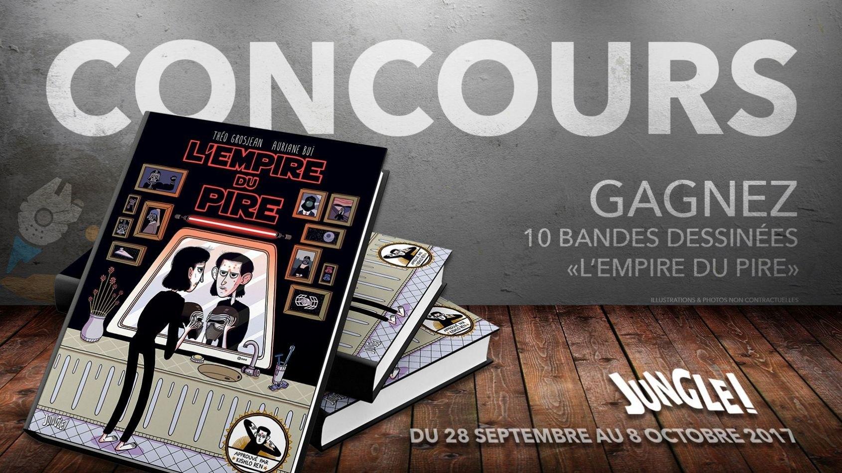 CONCOURS - Gagnez 10 bandes dessinées avec Jungle