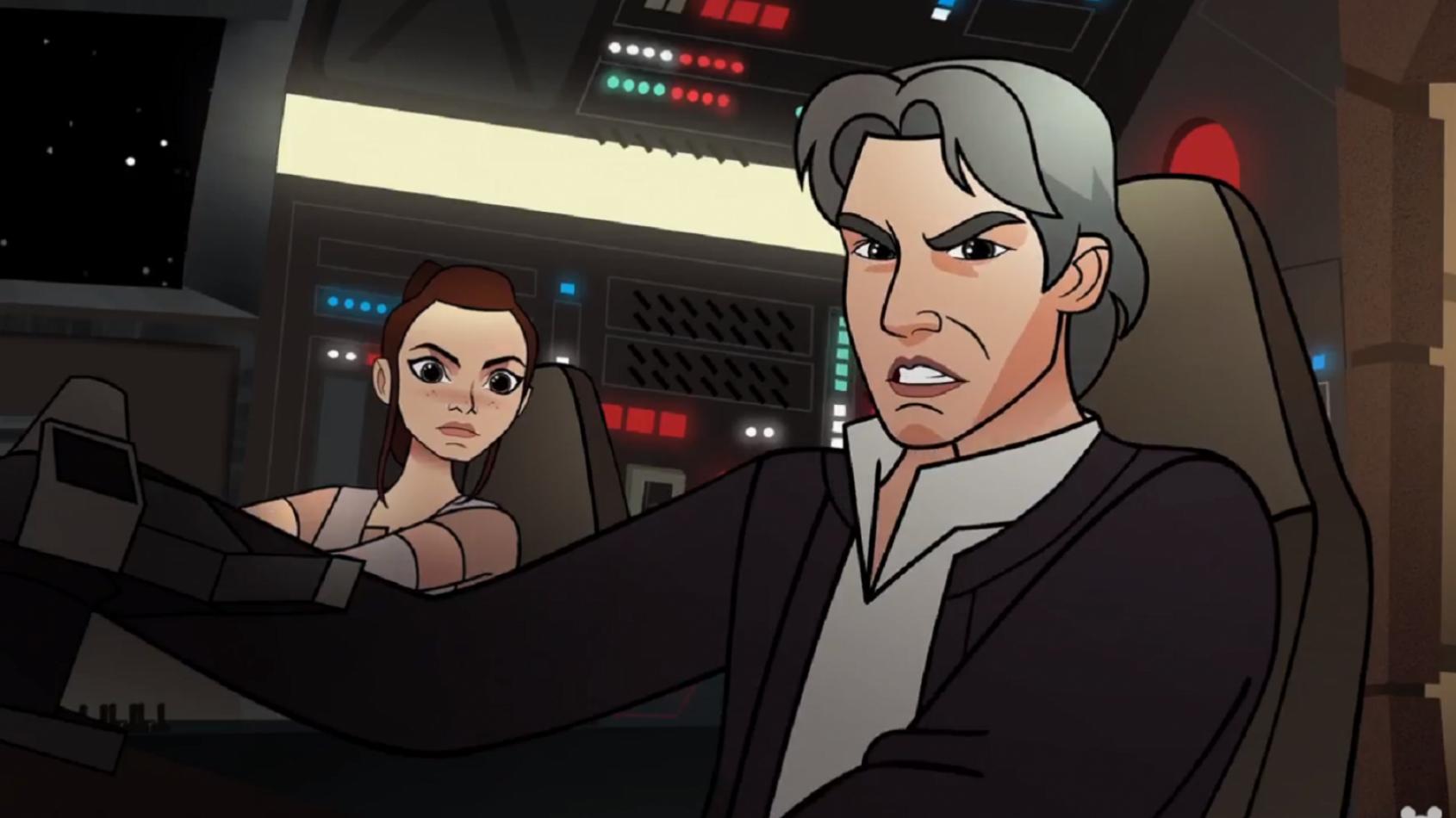 Forces of Destiny: qui donnera sa voix à Han Solo ?
