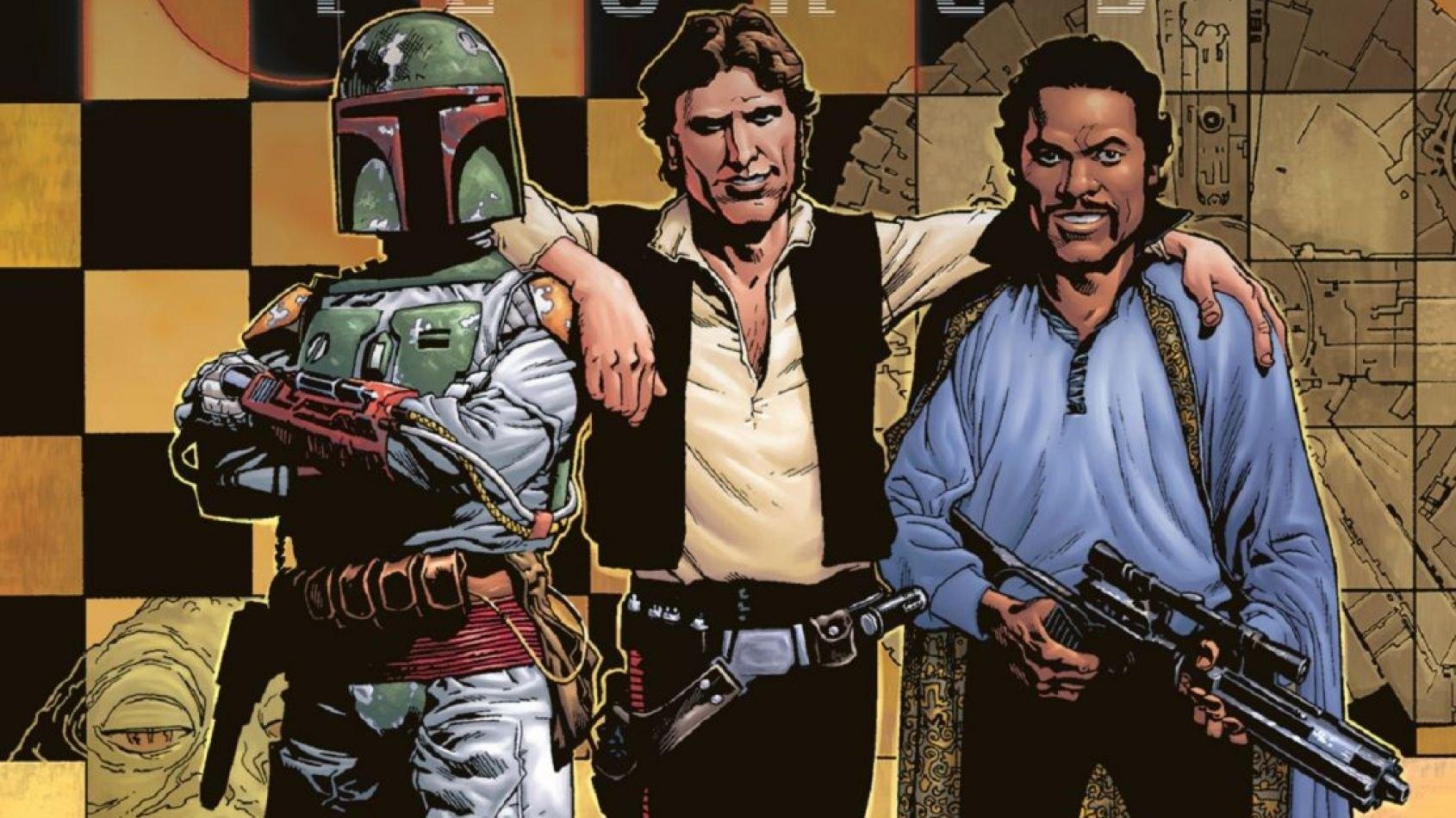 Delcourt : Sortie de Icones 5 : Han, Lando et Boba