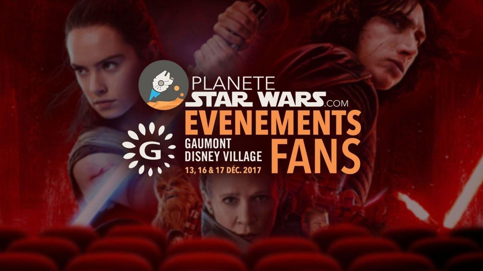Venez voir Star Wars Les Derniers Jedi avec Planete-StarWars.com !