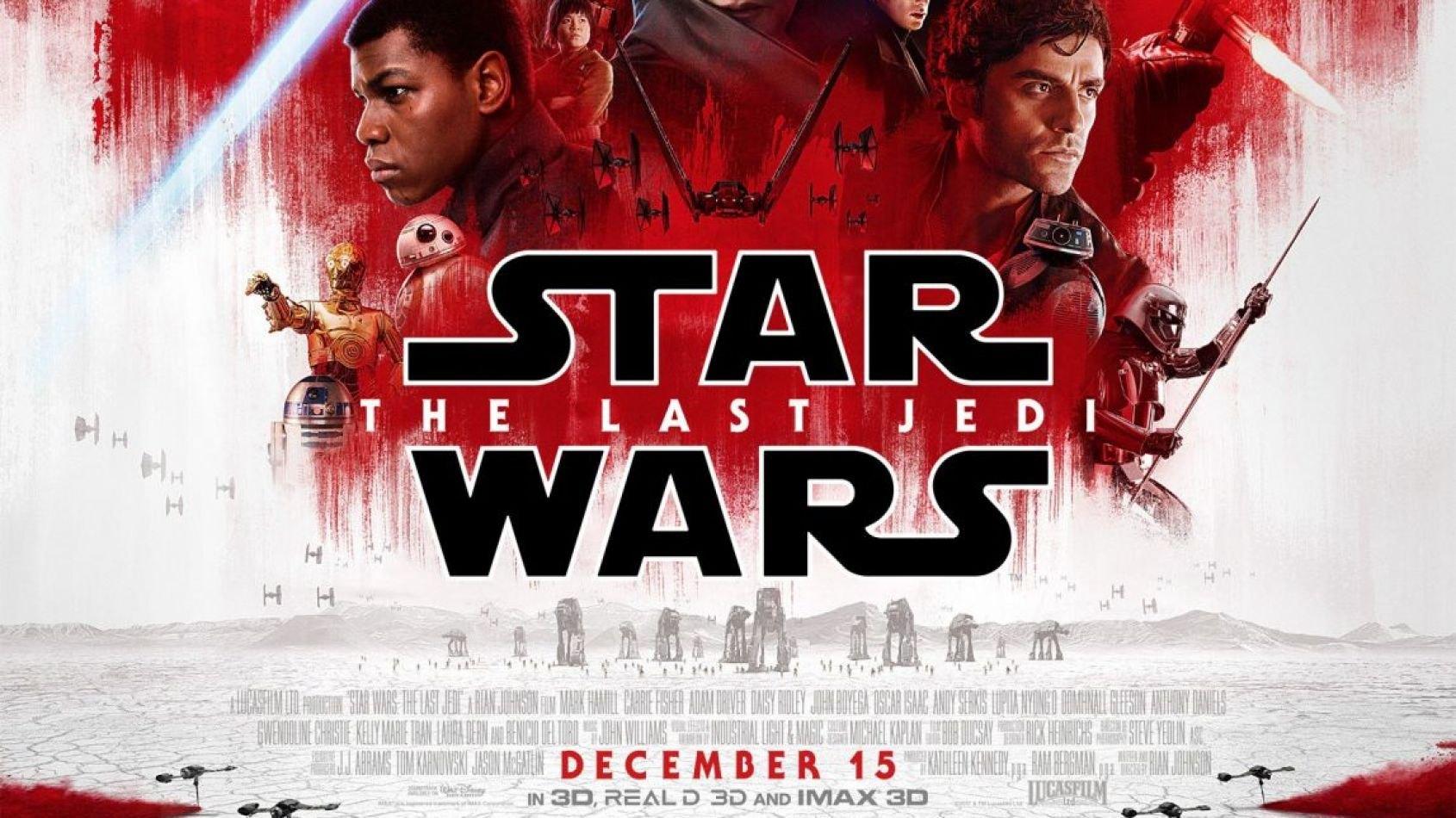 Un nouvel acteur dans Les Derniers Jedi