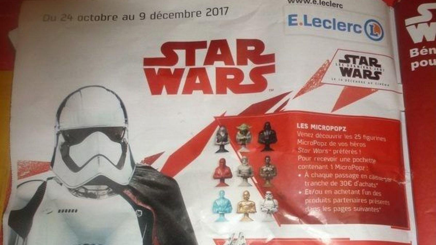 Les enseignes E. Leclerc lancent une nouvelle opération Star Wars