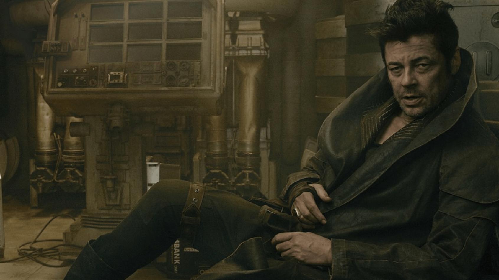 Benicio Del Toro alias DJ aura droit à son comics