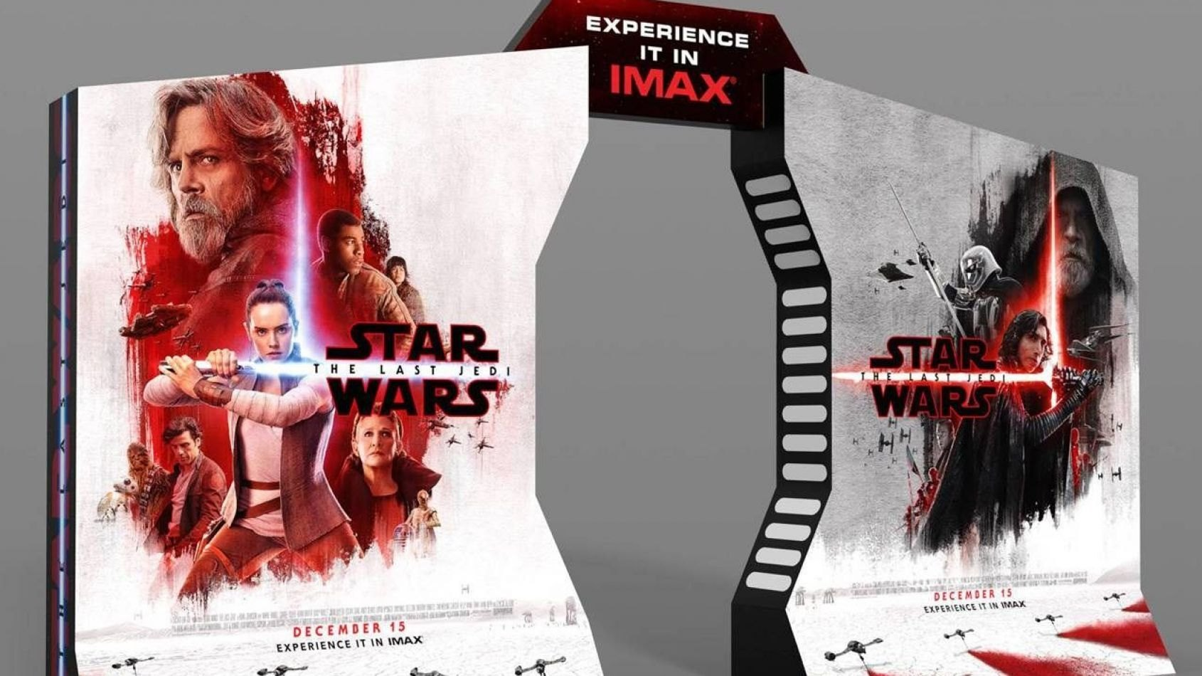 Nouveaux visuels de Finn, Rose et Poe Dameron dans les Derniers Jedi
