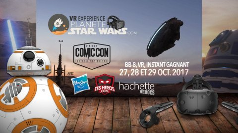 Enorme programme Star Wars au Comic Con Paris !