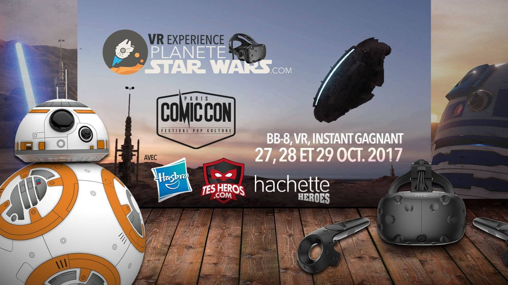 Enorme programme Star Wars au Comic Con Paris !