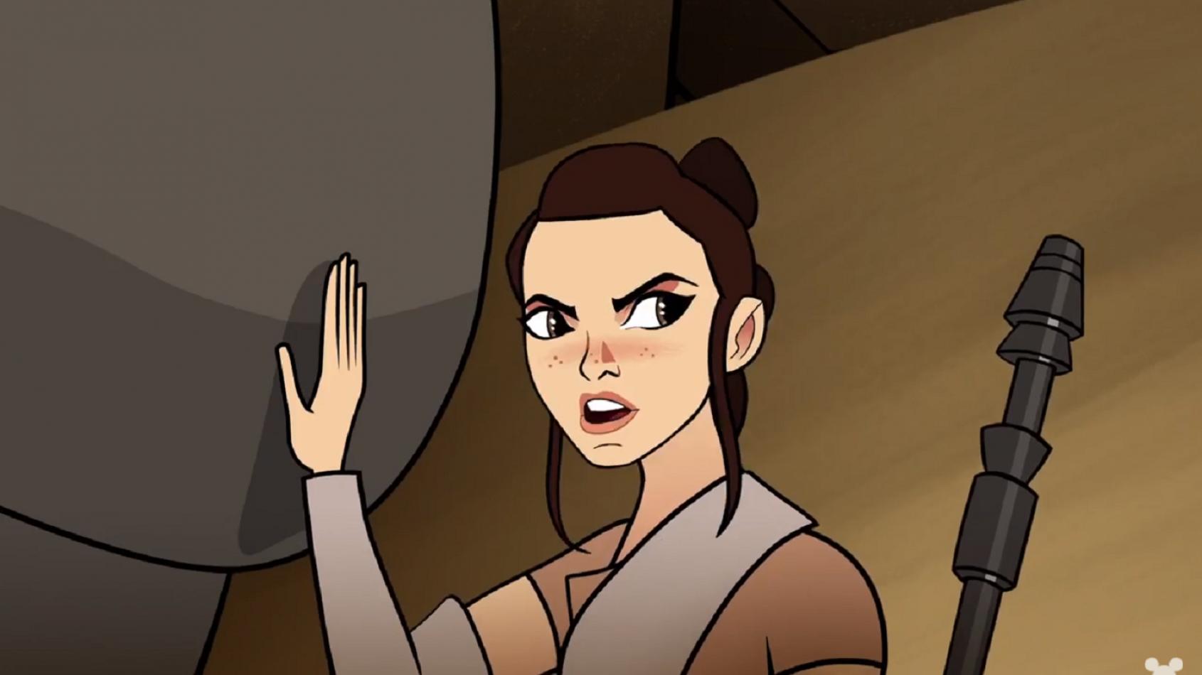 Rey de retour dans Forces du Destin