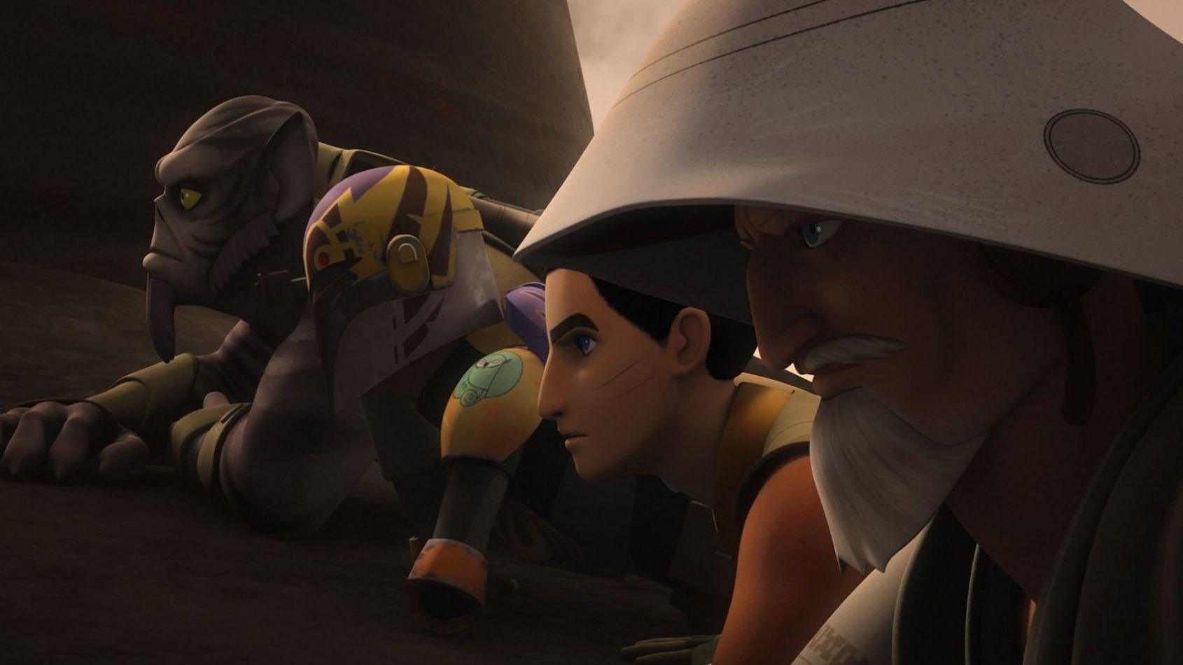 Rebels: images et vidéo de deux nouveaux épisodes
