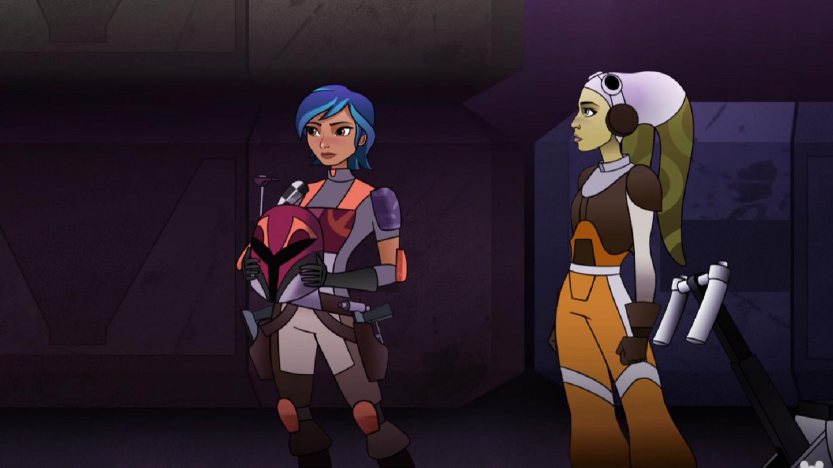 Hera et Sabine au centre du dernier épisode de Forces du Destin