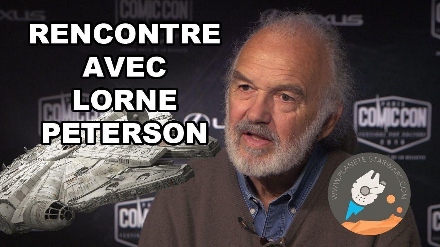 Interview Vidéo avec Lorne Peterson la légende d'ILM !