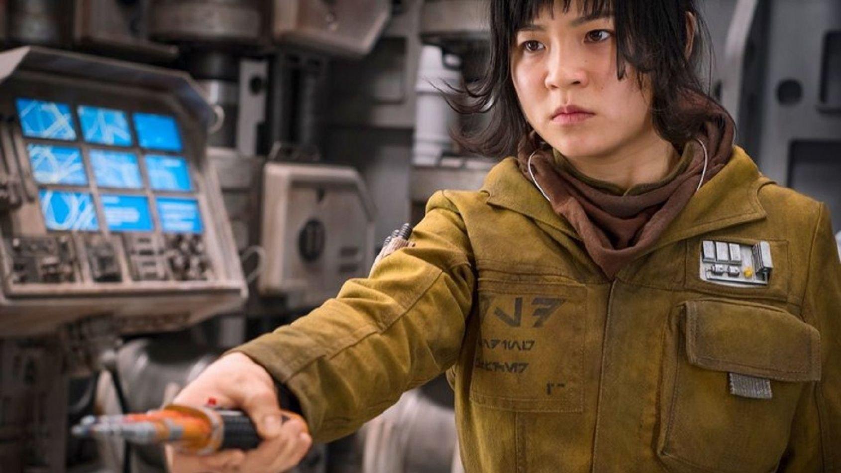 Une nouvelle image de Kelly Marie Tran dans Les Derniers Jedi