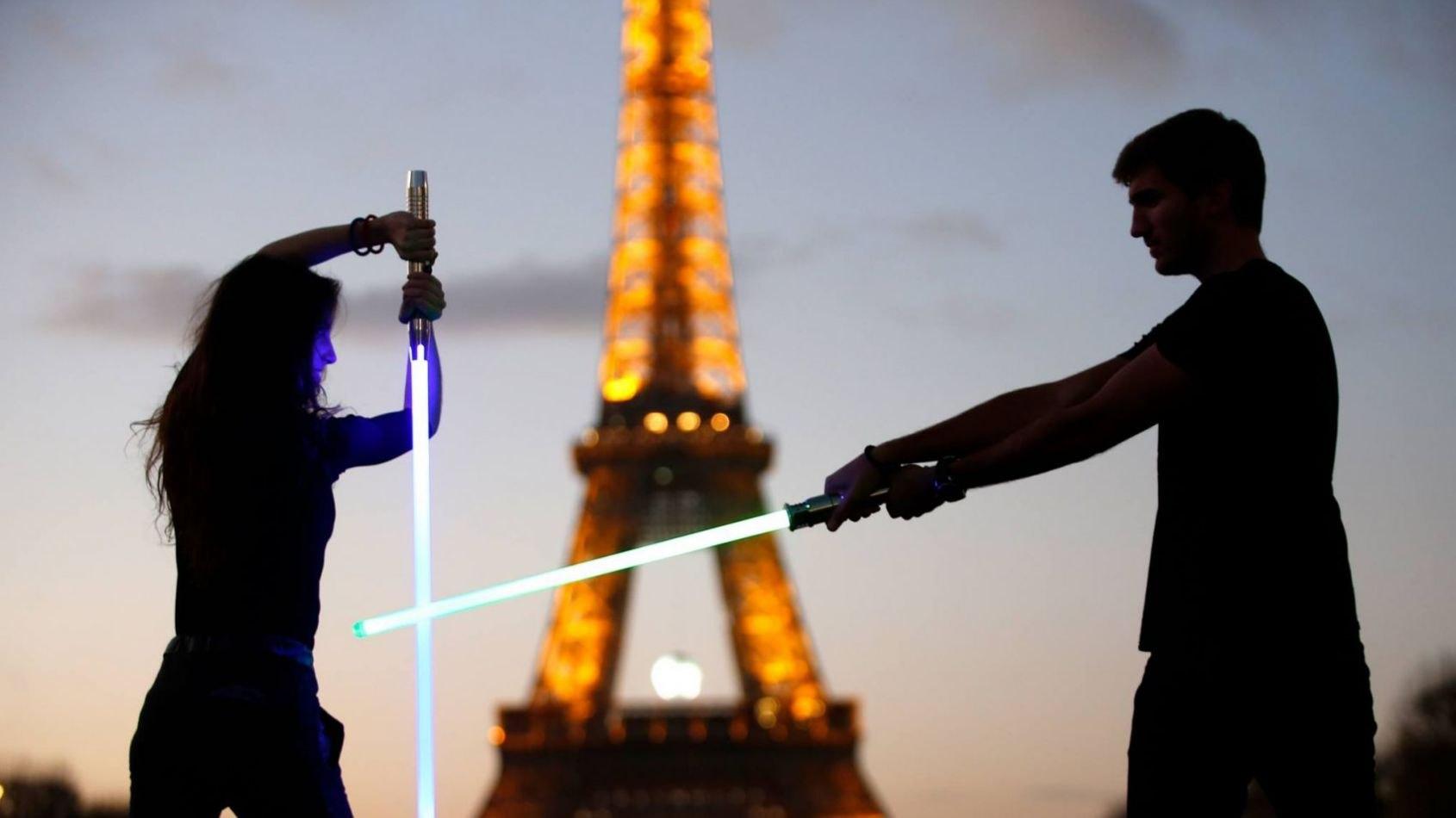 l'Open de Paris Sabre Laser, c'est dans une semaine !