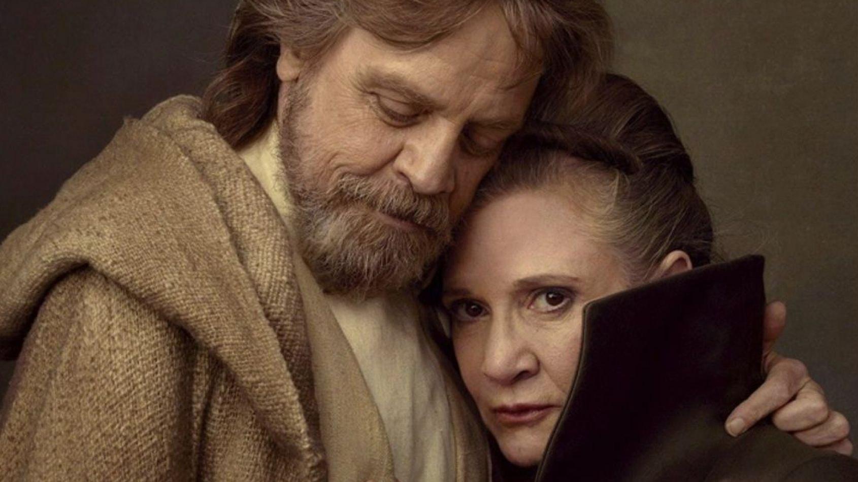 Des informations sur Luke et Leia dans les Derniers Jedi