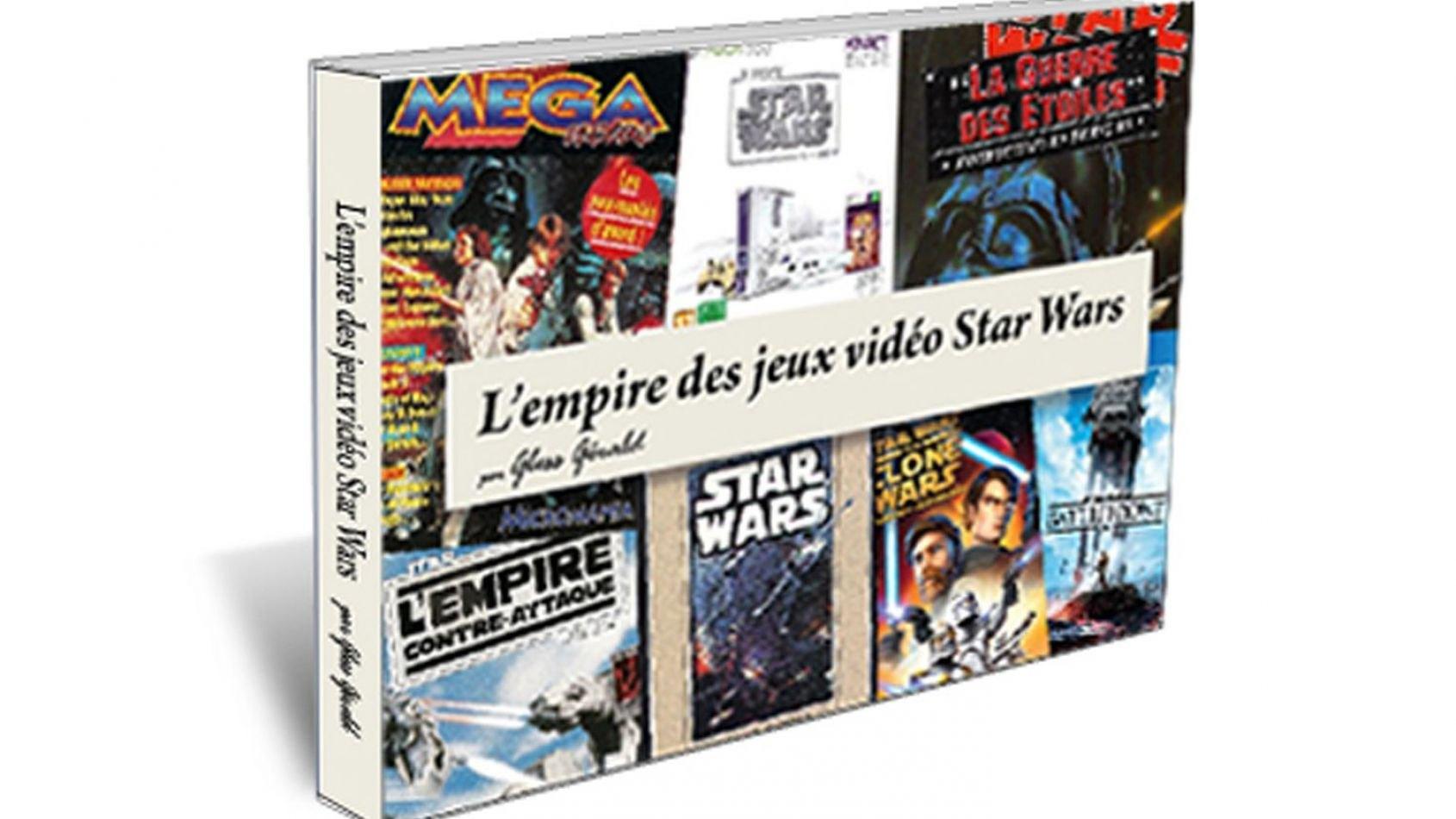 Un livre français sur les jeux vidéos Star Wars?