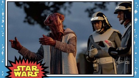 Une nouvelle carte Topps des Derniers Jedi