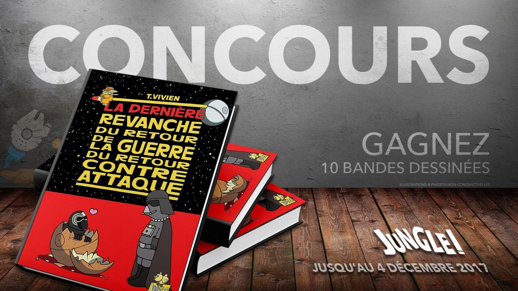 CONCOURS - Gagnez 10 bandes dessinées des éditions Jungle