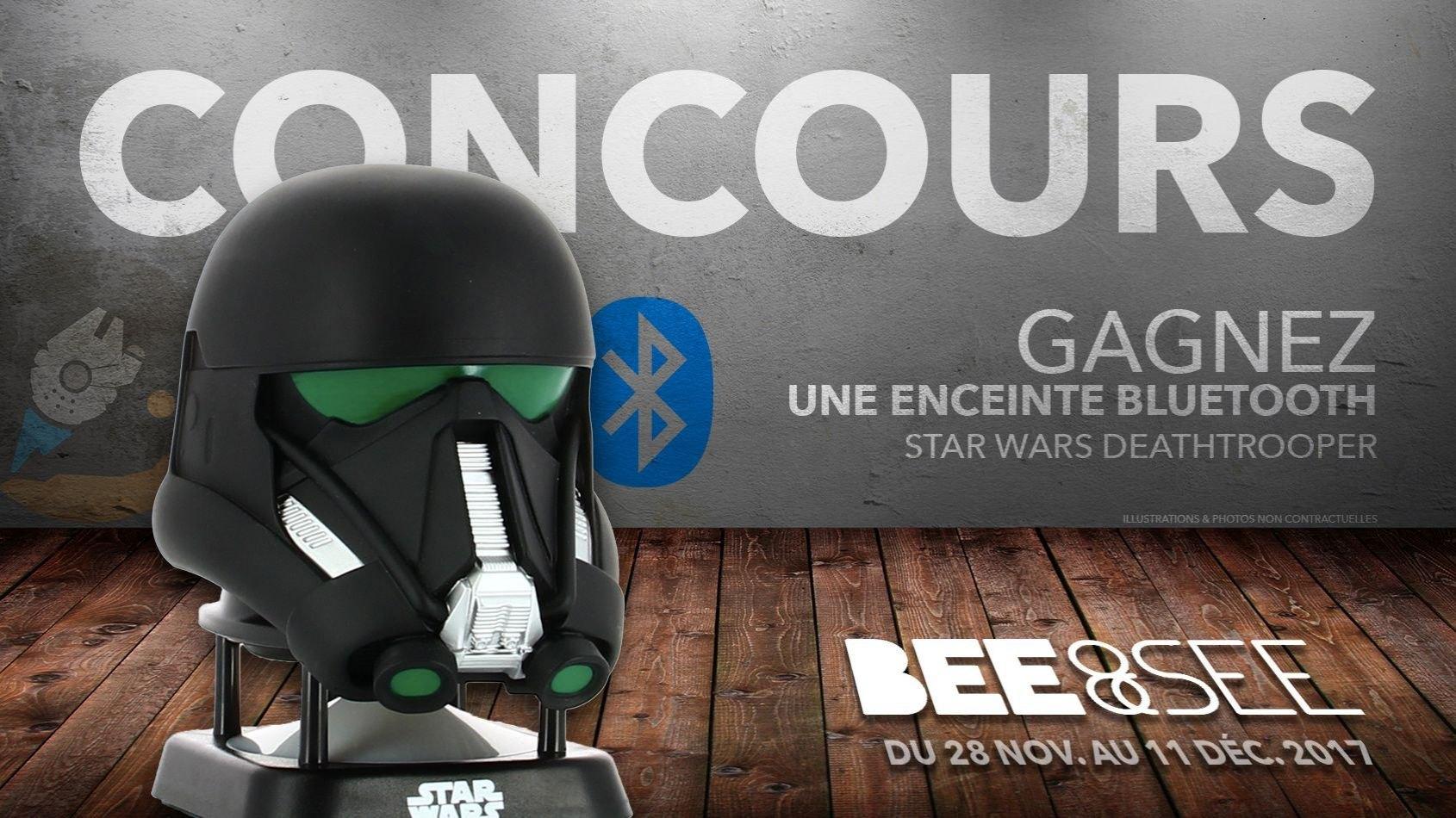 CONCOURS - Gagnez une enceinte Deathtrooper avec BeeAndSee