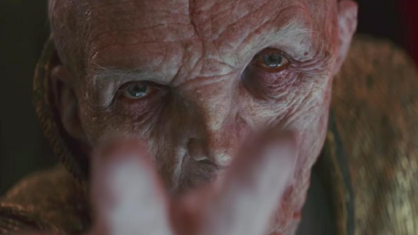 EMPIRE révèle une nouvelle photo de Snoke