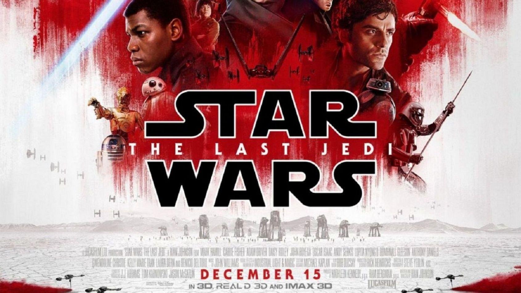Un nouveau spot TV dévoilé pour les Derniers Jedi