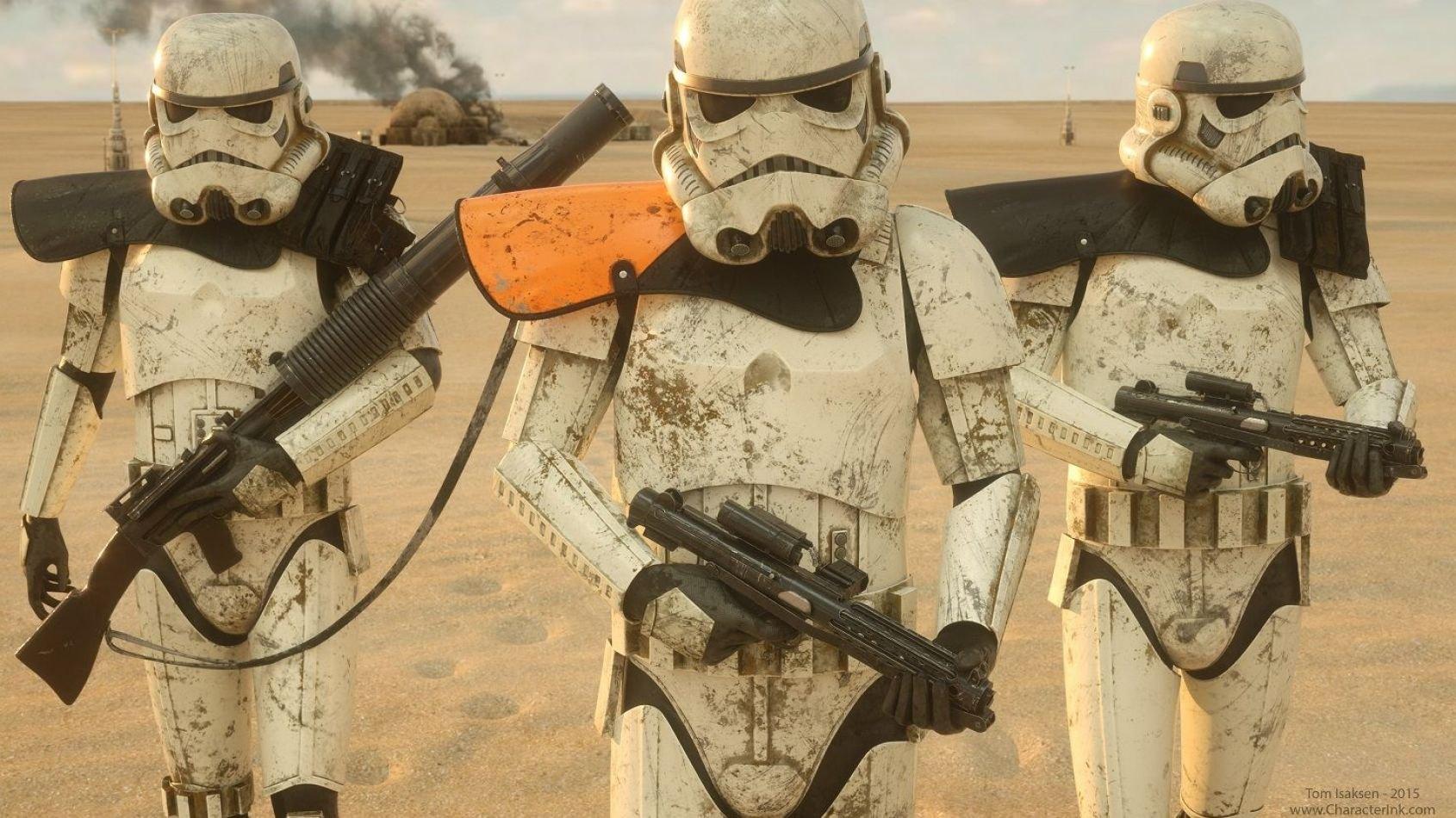 ANOVOS met  les sandtroopers à l'honneur !