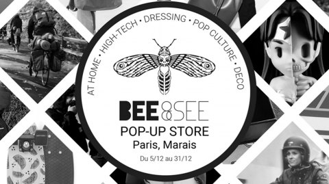 Aujourd'hui : 30% de réduction au Pop-Up Store Bee And See