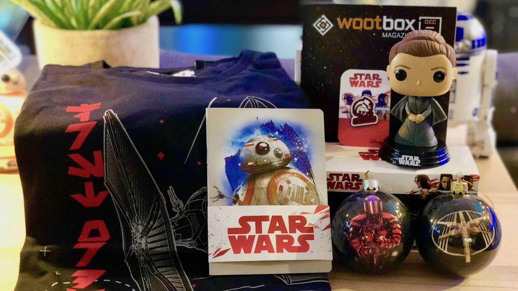 La Wootbox Star Wars avec une POP Les Derniers Jedi Exclusive !