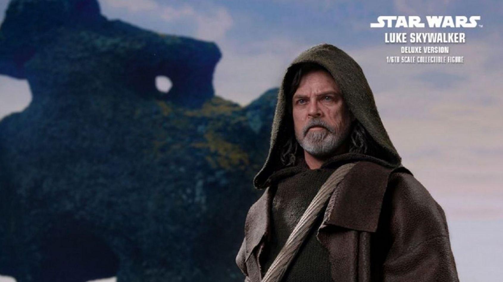 Luke Skywalker des Derniers Jedi par Hot Toys