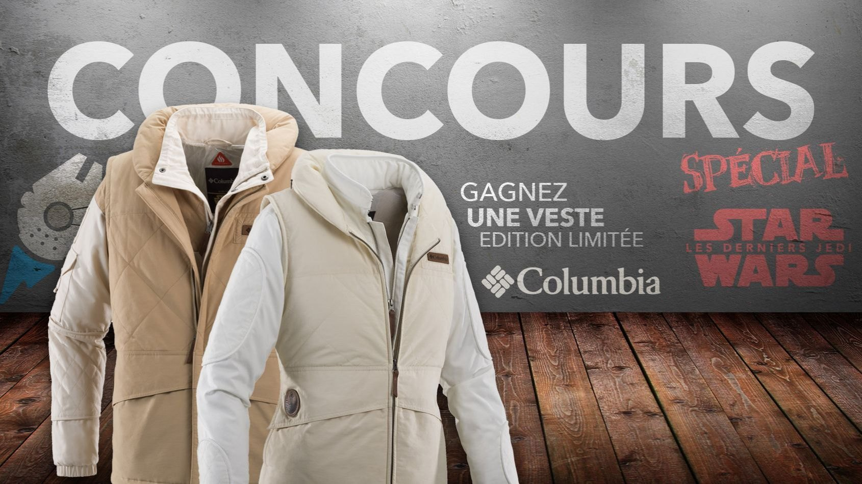 Concours Spécial #2 - Gagnez une des 5 vestes inédites Columbia